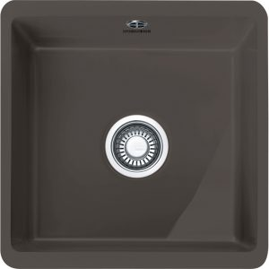Franke KBK110 40 GR Kubus Single Bowl Ceramic Undermount Sink – GRAPHITE
