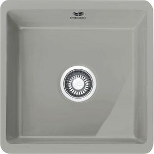 Franke KBK110 40 MPG Kubus Single Bowl Ceramic Undermount Sink – MATT PEARL GREY