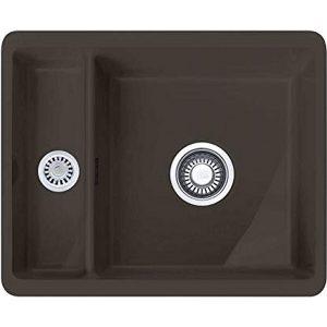 Franke KBK160 GR Kubus 1.5 Bowl Ceramic Undermount Sink – GRAPHITE