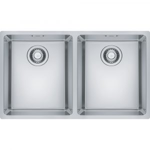 Franke MRX220 34-34 Maris Bowl Double Bowl Inset Sink – STAINLESS STEEL