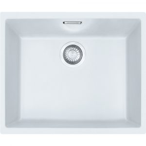 Franke SID110 50 PW Sirius Tectonite Single Bowl Undermount Sink – WHITE