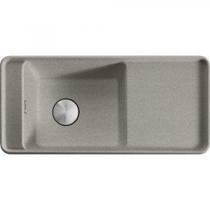 Franke SYG611 SS Style Fragranite Single Bowl Sink – STERLING SILVER