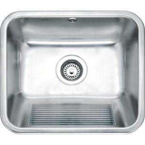 Franke UTX610 Utility Single Bowl Inset Sink – STAINLESS STEEL
