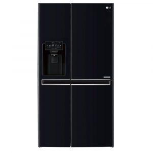 LG GSL760WBXV American Style Fridge Freezer With Ice & Water – BLACK