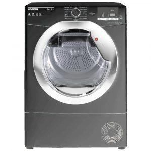 Hoover DXH9A2DCER 9kg Heat Pump Condenser Dryer – GRAPHITE
