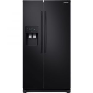 Samsung RS50N3413BC American Style RS3000 Fridge Freezer With Ice & Water – BLACK