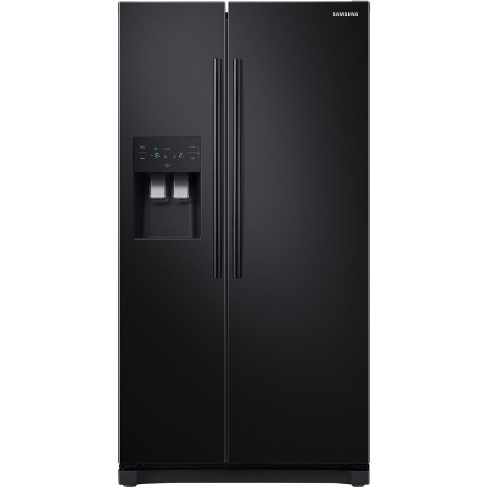 Samsung RS50N3413BC American Style RS3000 Fridge Freezer With Ice & Water - BLACK