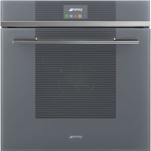 Smeg SFP6104STS Linea Pyrolytic Multifunction Steam Assisted Single Oven – SILVER