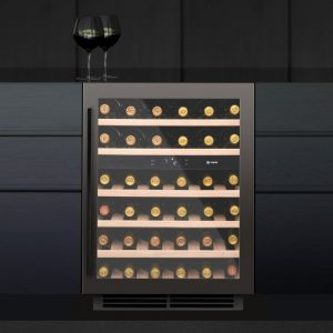 Caple WI6133GM 60cm Undercounter Dual Zone Wine Cooler – GUNMETAL