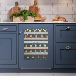 Caple WI6160 60cm Sense Premium Integrated Undercounter Dual Zone Wine Cooler