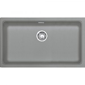 Franke KBG110 70 SG Kubus Single Bowl Undermount Sink – STONE GREY