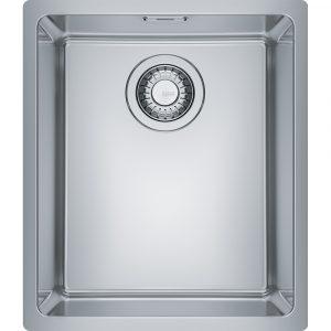 Franke MRX110-34 Maris Bowl Single Bowl Undermount Sink – STAINLESS STEEL