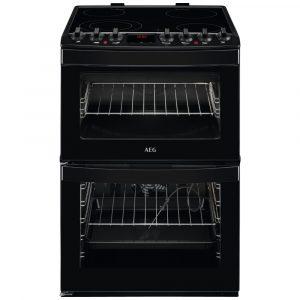 AEG CCB6761ACB 60cm Freestanding Electric Ceramic Cooker – BLACK