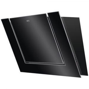 AEG DVB4850B 80cm Angled Chimney Hood – BLACK