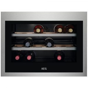 AEG KWE884520M 45cm Integrated In Column Wine Cooler – STAINLESS STEEL