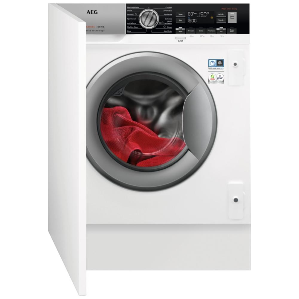 AEG L7WC8632BI 8kg/4kg Fully Integrated ProSteam Washer Dryer
