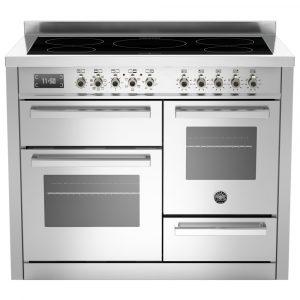 Bertazzoni PRO110-5I-MFE-T-XT 110cm Professional XG Induction Range Cooker – STAINLESS STEEL