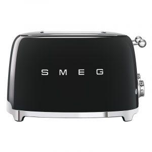 Smeg TSF03BLUK Retro 4 Slice Toaster – BLACK