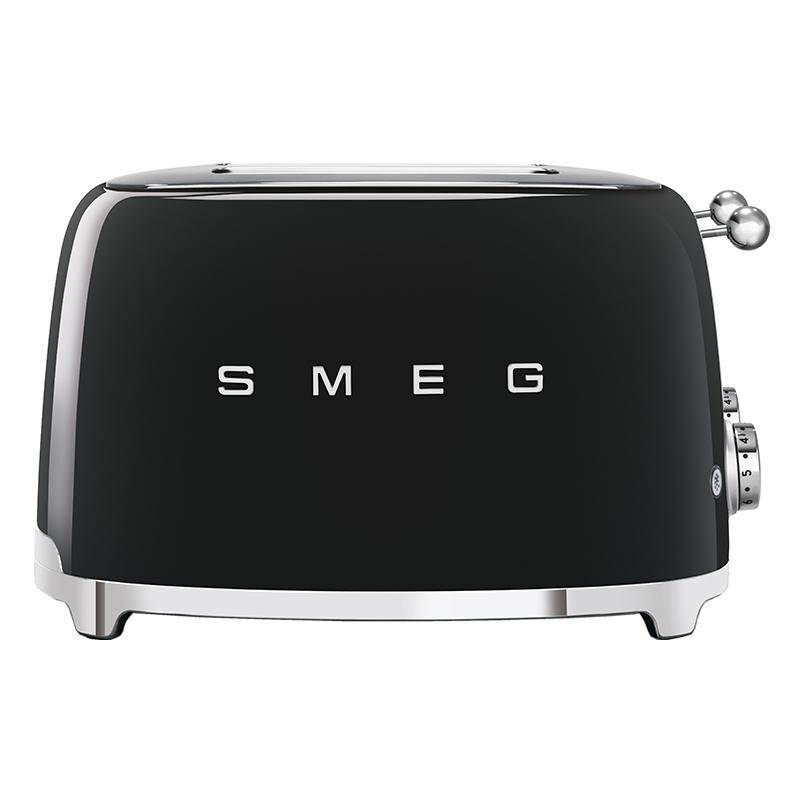 Smeg TSF03BLUK Retro 4 Slice Toaster - BLACK