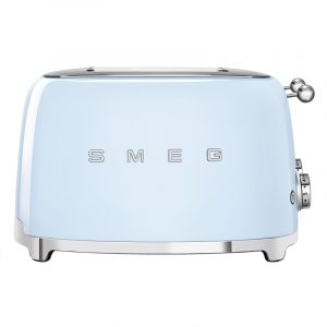 Smeg TSF03PBUK Retro 4 Slice Toaster – PASTEL BLUE
