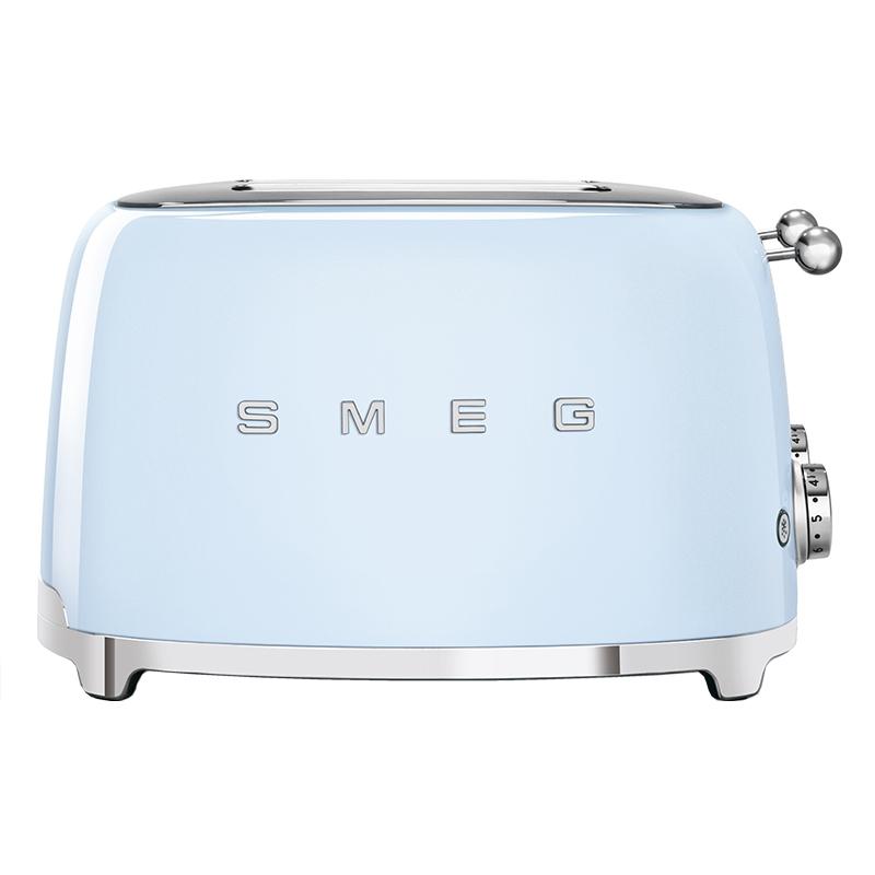 Smeg TSF03PBUK Retro 4 Slice Toaster - PASTEL BLUE