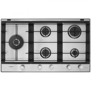 Whirlpool GMW9552IXL 86cm Five Burner Gas Hob – STAINLESS STEEL
