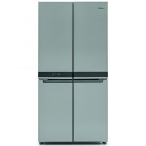 Whirlpool WQ9B1L French Style Four Door Fridge Freezer Non Ice & Water – STAINLESS STEEL