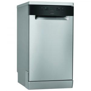 Whirlpool WSFE2B19XUK 45cm Freestanding Dishwasher – STAINLESS STEEL