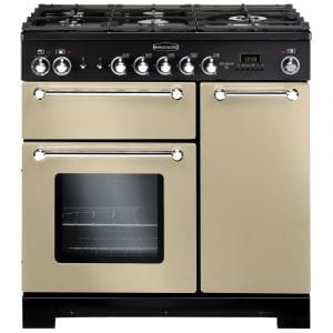 Rangemaster KCH90NGFCR/C Kitchener 90cm Gas Range Cooker – CREAM
