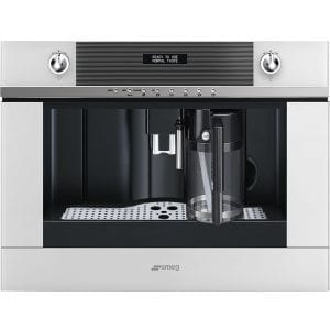 Smeg CMS4101B Linea Fully Automatic Built In Coffee Machine – WHITE