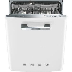 Smeg DI6FABWH Integrated Retro Style Dishwasher – WHITE