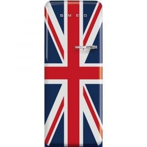 Smeg FAB28LDUJ3UK 60cm Retro Refrigerator Left Hand Hinge – UNION JACK