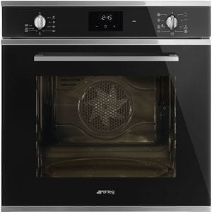 Smeg SF6400TVN Cucina Multifunction Single Oven – BLACK