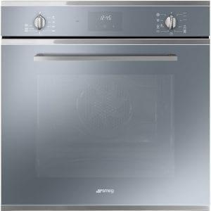 Smeg SF6400TVS Cucina Multifunction Single Oven – SILVER