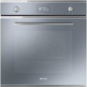 Smeg SF6402TVS Cucina Multifunction Single Oven – SILVER