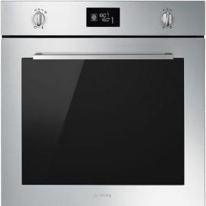 Smeg SFP6402TVX Cucina Pyrolytic Multifunction Single Oven – STAINLESS STEEL