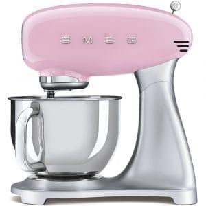 Smeg SMF02PKUK Retro Stand Mixer – PINK