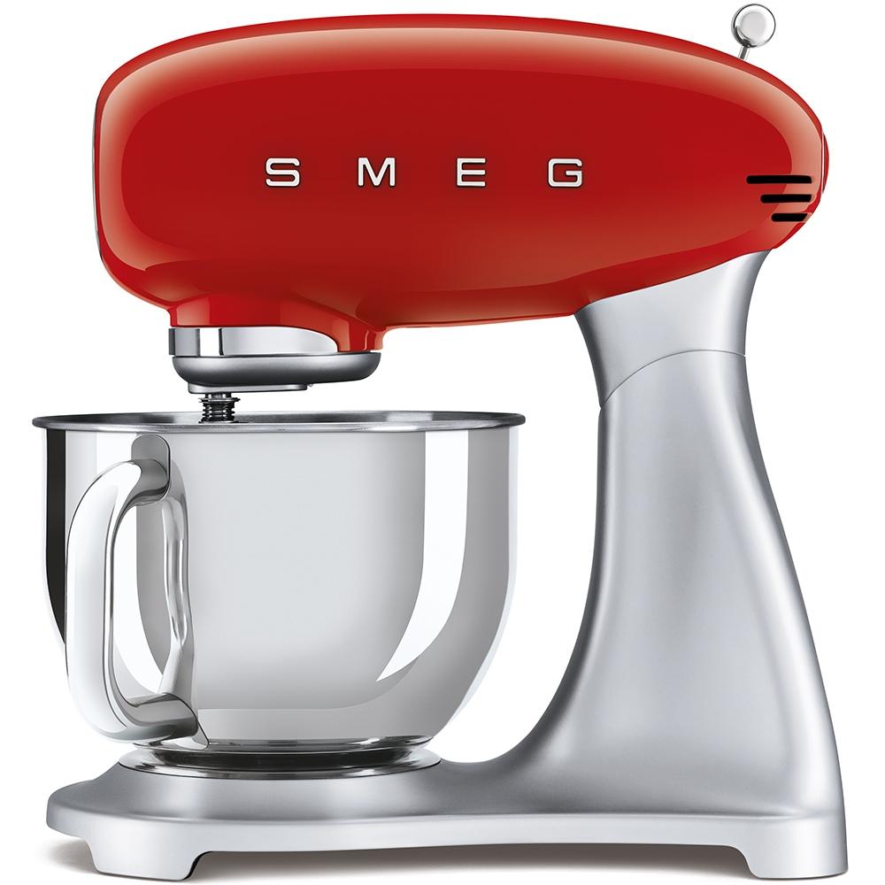 Smeg SMF02RDUK Retro Stand Mixer - RED