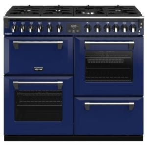 Stoves RICHMOND DX S1000DFCBMGA Richmond 1000mm Dual Fuel Cooker – BLUE