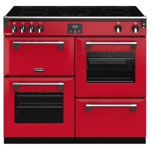 Stoves RICHMOND DX S1000EICBHJA Richmond 1000mm Induction Cooker – RED