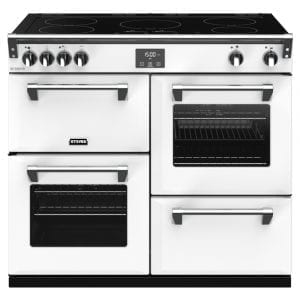 Stoves RICHMOND DX S1000EICBIBR Richmond 1000mm Induction Cooker – WHITE