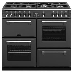 Stoves RICHMOND DX S1000GCBANT Stoves Richmond 1000mm Gas Range – ANTHRACITE