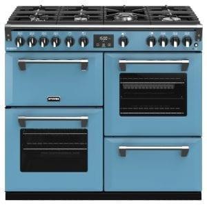 Stoves RICHMOND DX S1000GCBDAB Stoves Richmond 1000mm Gas Range – BLUE