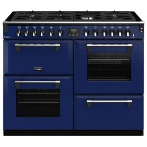 Stoves RICHMOND DX S1100DFCBMGA Richmond 1100mm Dual Fuel Cooker – BLUE
