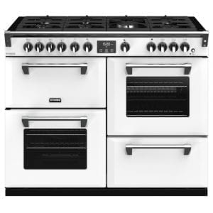 Stoves RICHMOND DX S1100GCBIBR Stoves Richmond 1100mm Gas Range – WHITE