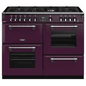 Stoves RICHMOND DX S1100GCBWBE Stoves Richmond 1100mm Gas Range – PURPLE
