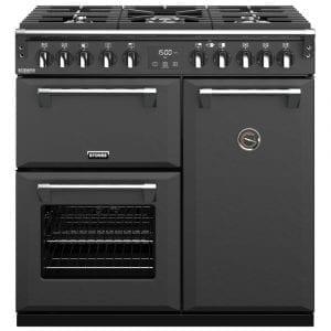 Stoves RICHMOND DX S900DFCBANT Richmond 900mm Dual Fuel Cooker – ANTHRACITE