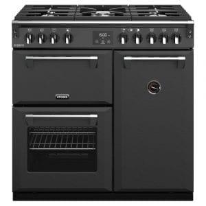Stoves RICHMOND DX S900GCBANT Richmond 900mm Gas Range Cooker – ANTHRACITE