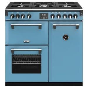 Stoves RICHMOND DX S900GCBDAB Richmond 900mm Gas Range Cooker – BLUE