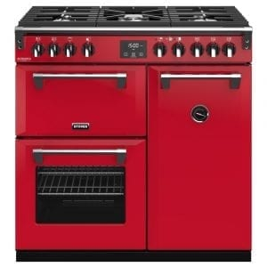 Stoves RICHMOND DX S900GCBHJA Richmond 900mm Gas Range Cooker – RED